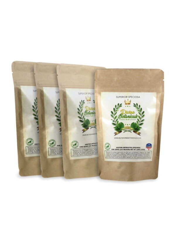 Buy 3 Get 1 Free Kratom Powder Pack